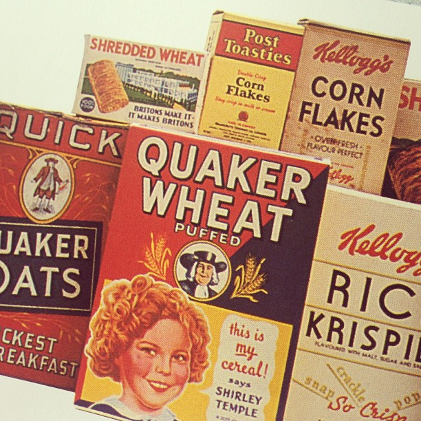 Food packaging history nichola watkiss for Cuisine 1930